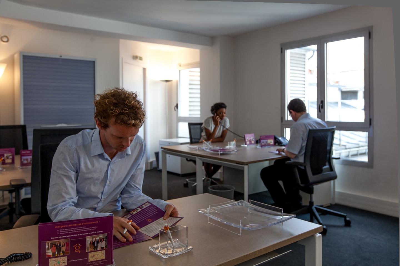 coworking bureau partagé 4 à 6 personnes paris