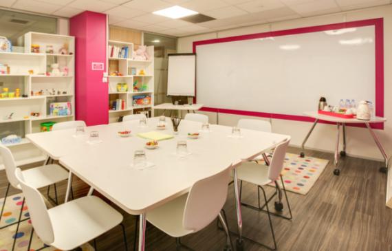 Salle réunion créative